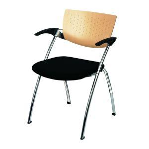 Multifunctionele stoel Filigra hout/kunststof